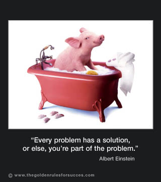 A Solution In Search Of Problem >> Picture of the week #6 : Every problem has a solution...