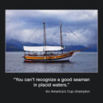 Pciture of the week #14 : You can't recognize a good seaman…