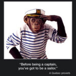Picture of the week #17: Before being a captain, you've got to be a sailor