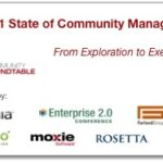 The state of community management  : the 2011 edition is available !