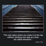 Picture of the week #36 : The only stairs where you make it to the top without climbing on step at a time…