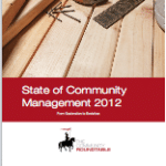 The state of community Management 2012 is out