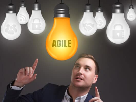 Being digital in 2018 : be agile everywhere !