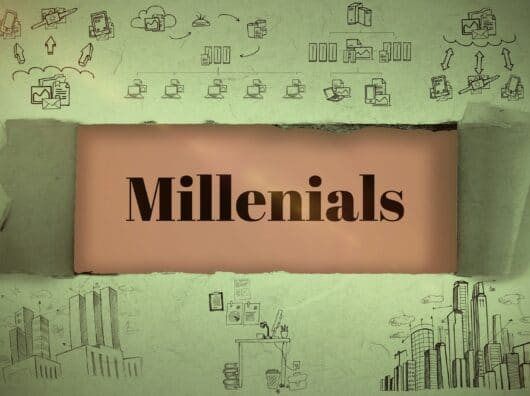 Scoop : Millenials love work and money !