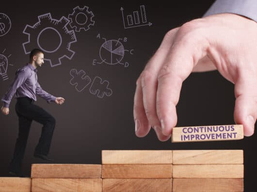 Improving a team' s work: a story of continuous improvement