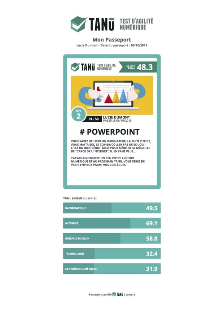 passeport TANU powerpoint