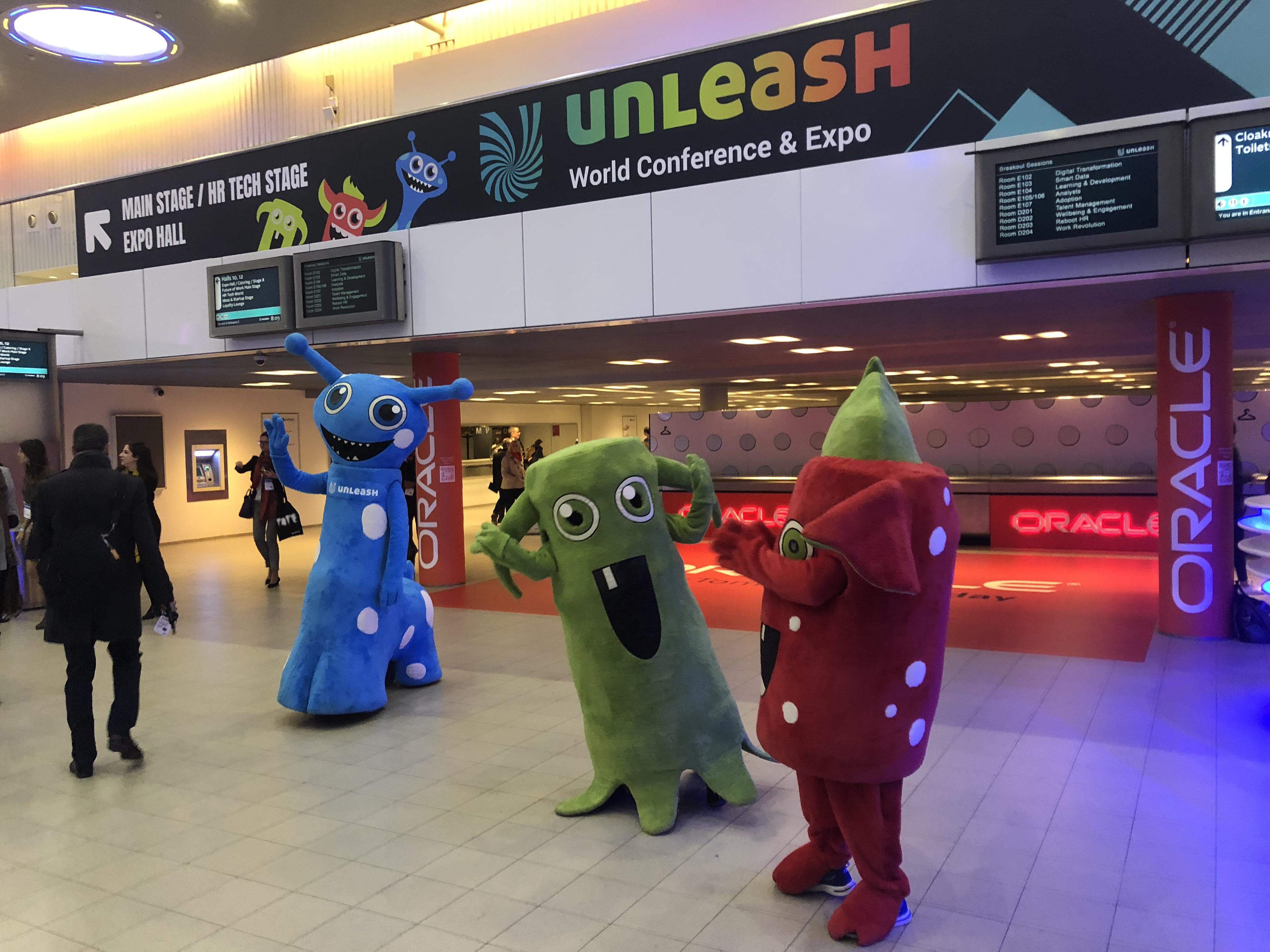 #UNLEASH18 Jour 2 : un petit tour du côté des éditeurs et des startups
